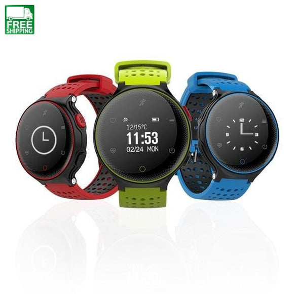 Sports Smart Watch Blood Pressure Fitness Tracker Heart Rate Watches