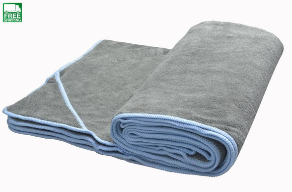 Sunland Yoga Towel 24X72 Microfiber Hot Towel- Perfect For Bikram Ashtanga