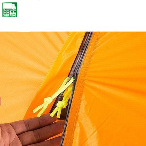 Tent 1 Person Trekking Hiking Waterproof Tourist Tents Orange / # Camping Tent