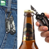 Tool Edc Gear Tactical Folding Pocket Knife Stainless Steel Opener Safety & Survival