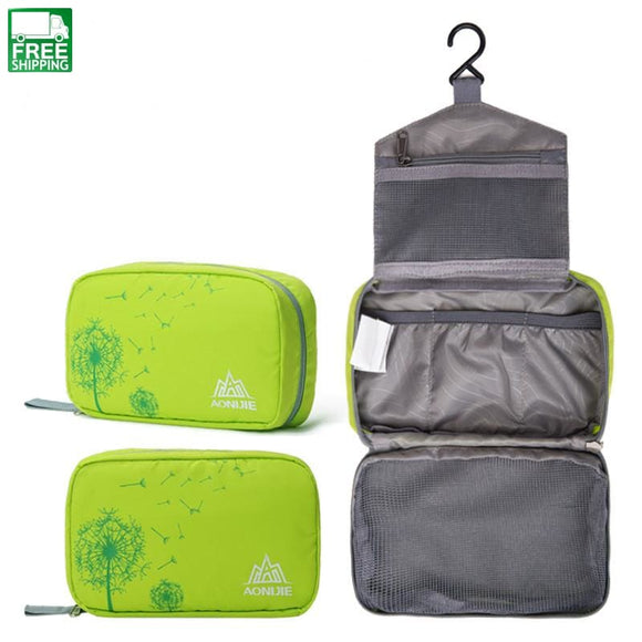 Travel Toiletry Kits Foldable Waterproof Cosmetic Organizer Sport Washing Bag Outdoor Camping