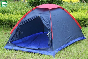 Two Person Water Resistance Outdoor Camping Tent Kit Professional Fiberglass Tent