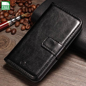 Wallet Flip Case For Iphone 4 4S Luxury Broncos Pu Leather Cover With Card Holders Travel Waist