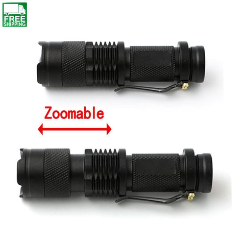 Waterproof Mini Penlight Led Flashlight With 3 Modes Lights & Lanterns