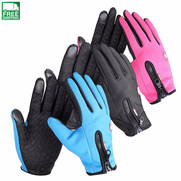 Women Men M L Xl Ski Gloves Snowboard Motorcycle Riding Winter Outdoor Camping