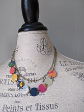 Harbinger Collection Colorful Tin Necklace