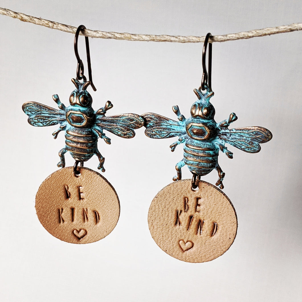 Be Kind Bee Earrings