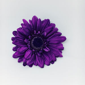 Gerbera Hair Flower - Purple