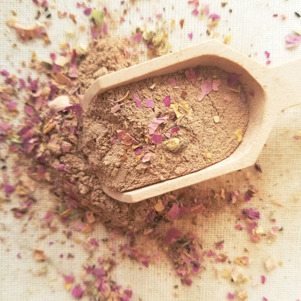 FACIAL MASK : CACAO + ROSE