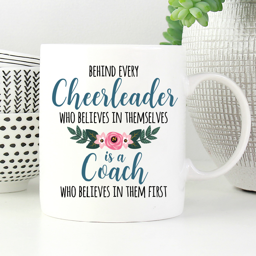 Cheerleading Coach Mug