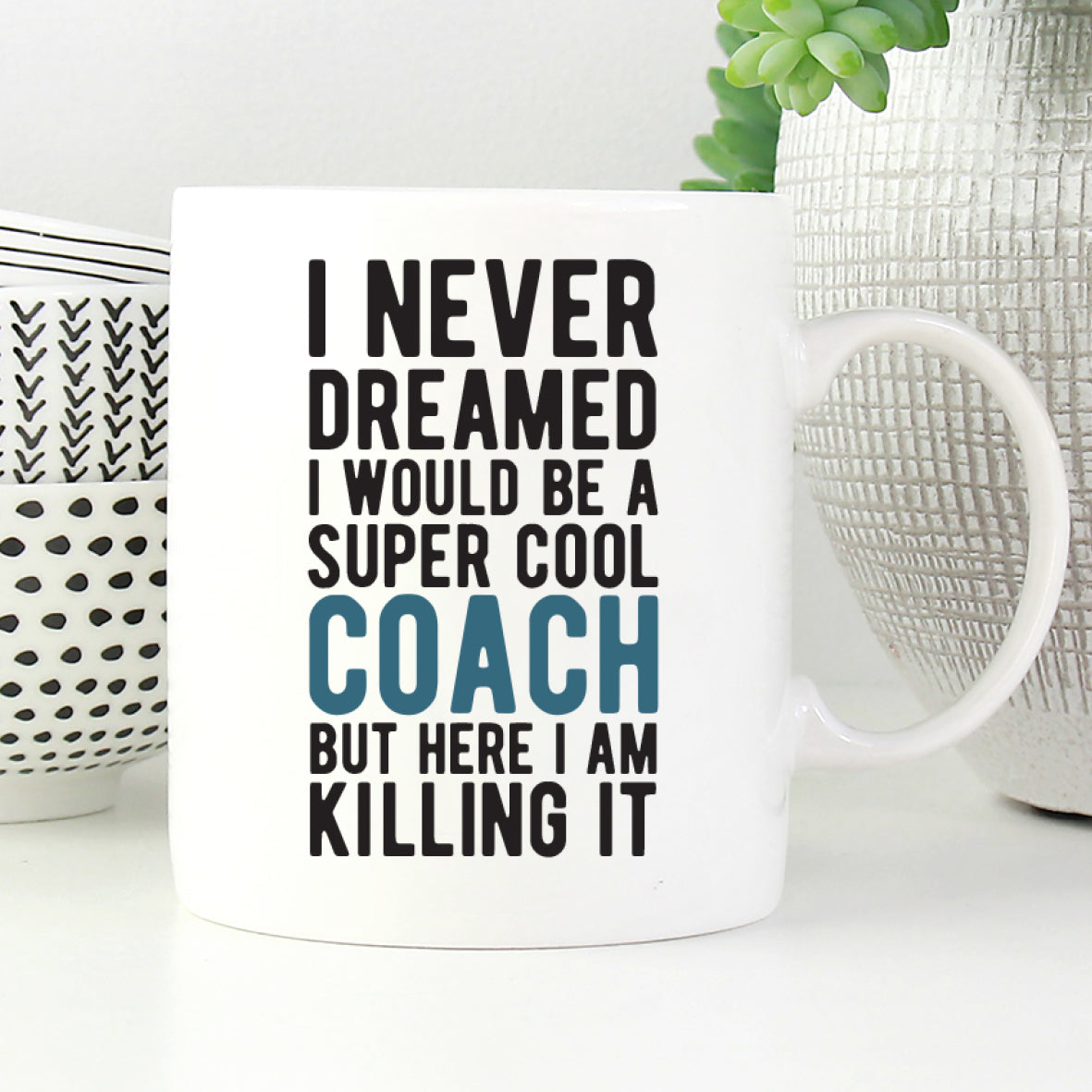 Details about  /Basketball Coach Not Magician Gift Coffee Mug