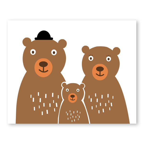 Bear Family Puff Paper Co