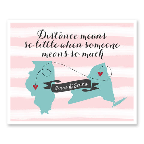 Distance Means So Little