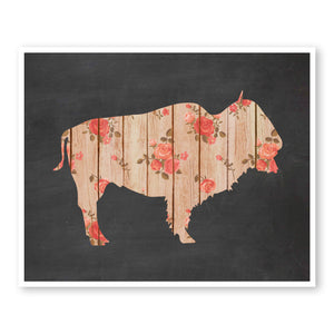 Rustic Bison
