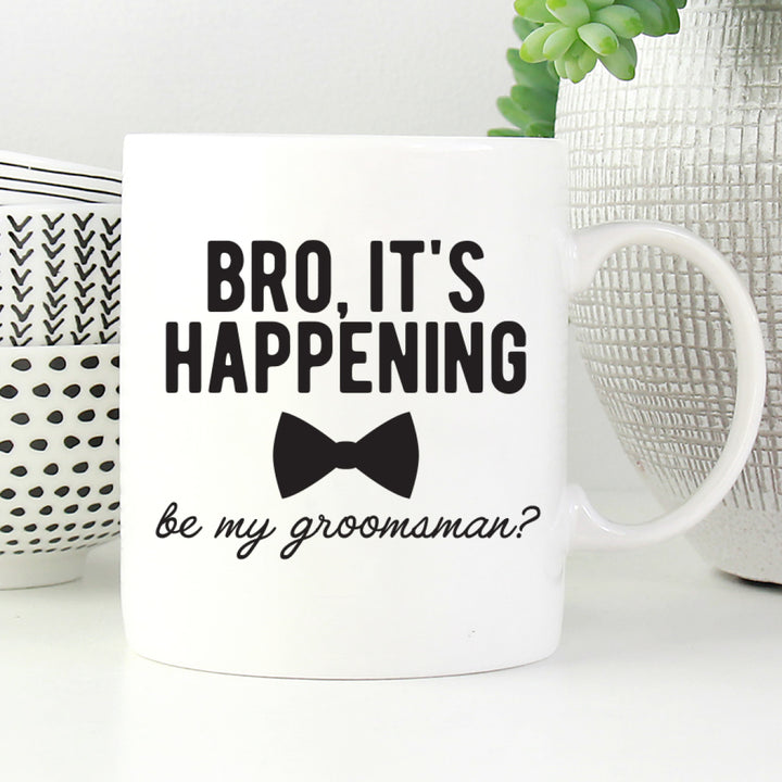 Will you be my groomsman mug