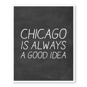 chicago-always-good-idea-custom-art-chalkboard