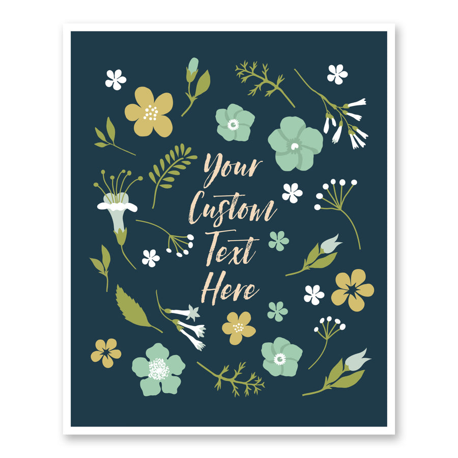 Floral Burst Custom Quote