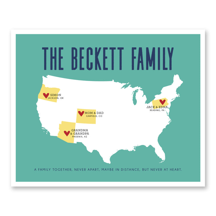 Family Together Map