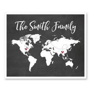 Family World Map