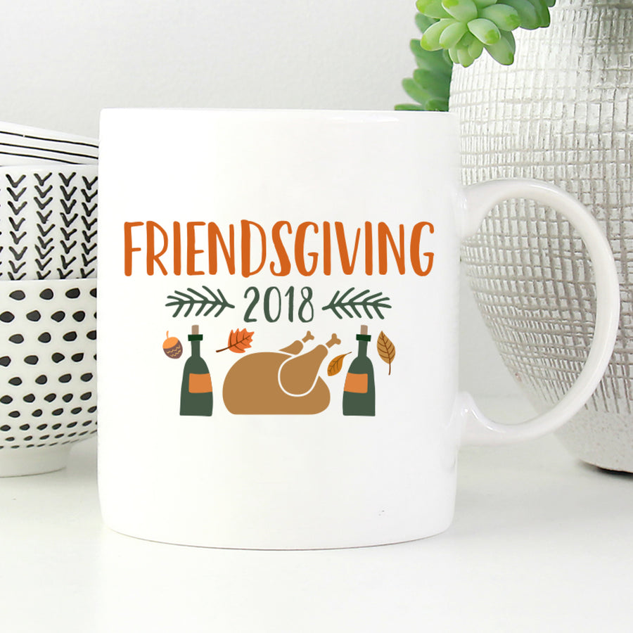 Friendsgiving 2018 Mug