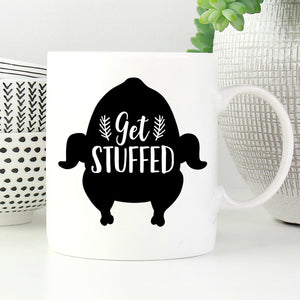 Get Stuffed Turkey Mug