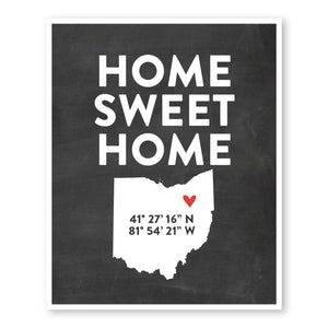 home-sweet-home-coordinates-state-map-art-custom-striped-wall-art