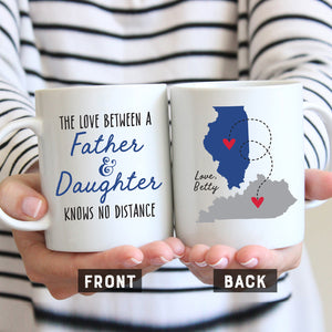 Love Between Father and Daughter Mug