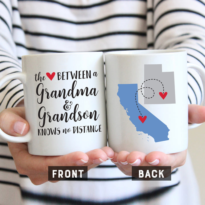 Love Between Grandma and Grandson Mug