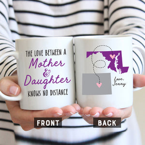 Mother and Daughter Long Distance Mug