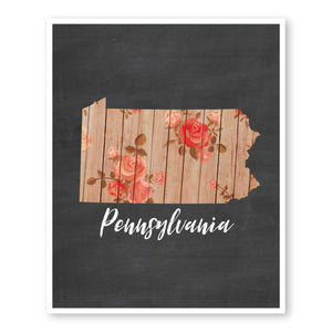 pennsylvania-state-map-art-custom-rustic-wall-art