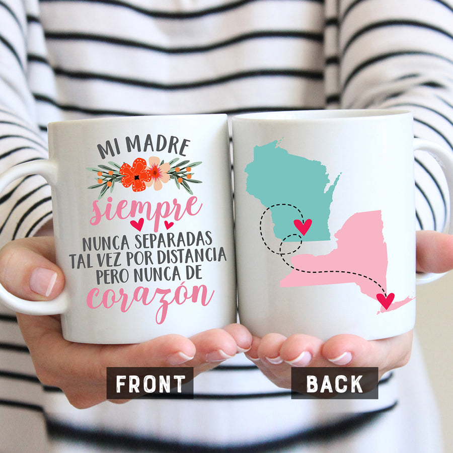 Madre Long Distance States Mug
