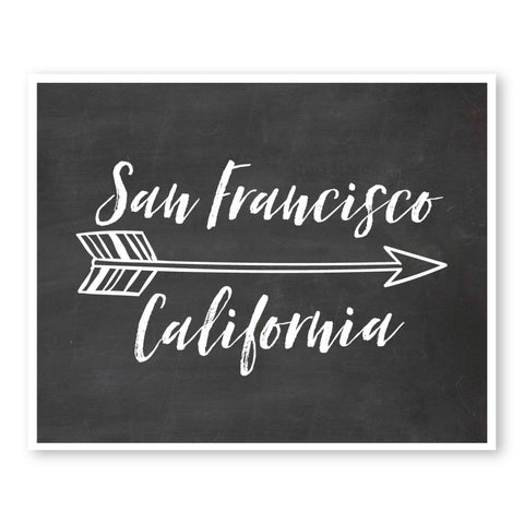 san-francisco-california-state-map-art-custom-chalkboard-wall-art