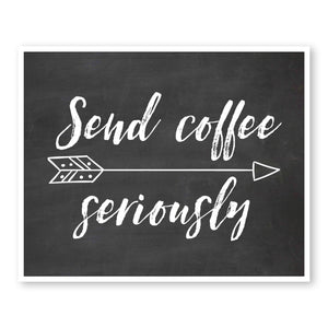 Send Coffee Seriously