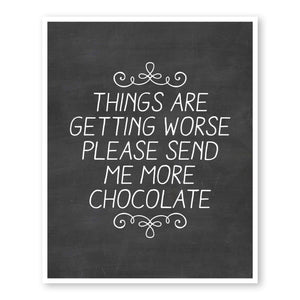 Please Send More Chocolate