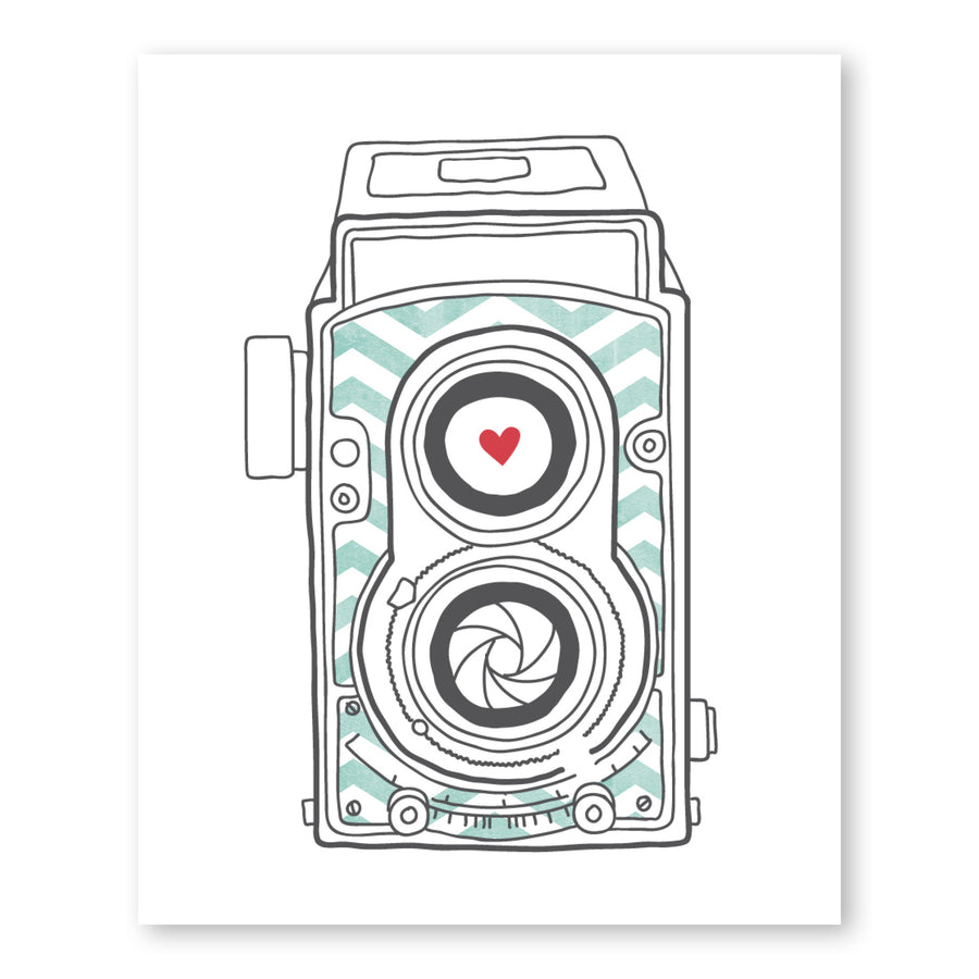 Camera Mint Chevron 2