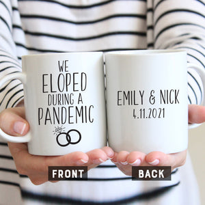 We Eloped During a Pandemic Mug
