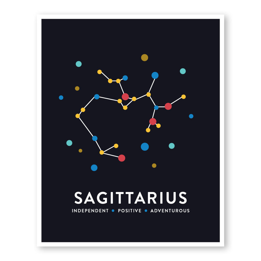 Sagittarius Constellation Art Print