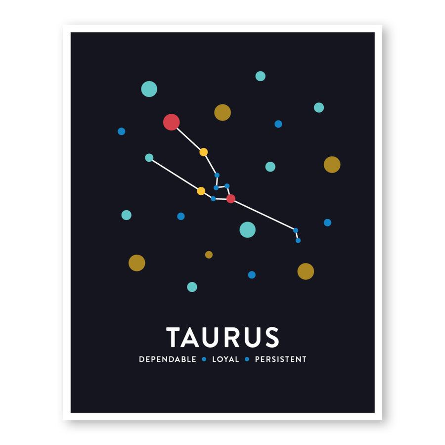 Taurus Constellation Art Print