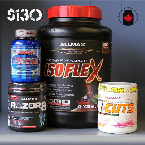 Allmax Featured Stack