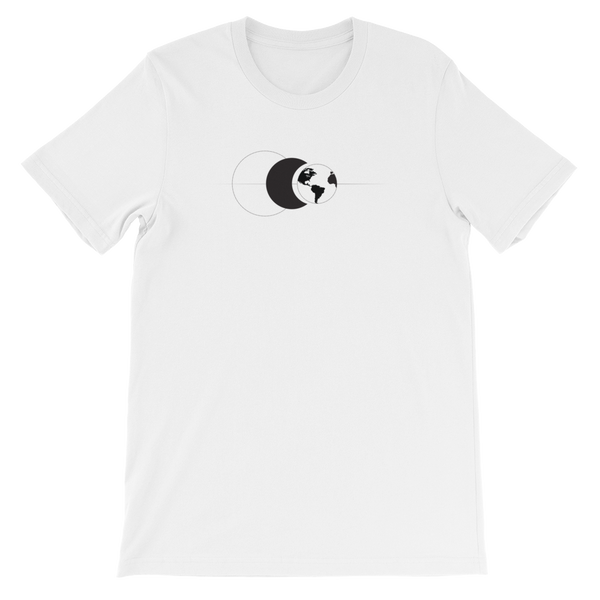 Sun Moon Earth Unisex Tee