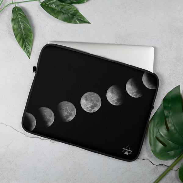 Moon Phase Laptop Sleeve - 15 in
