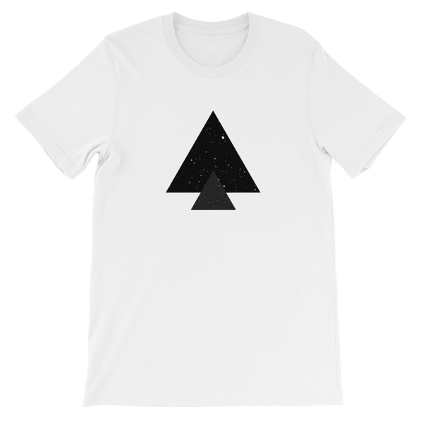 Triangle Galaxy Unisex tee