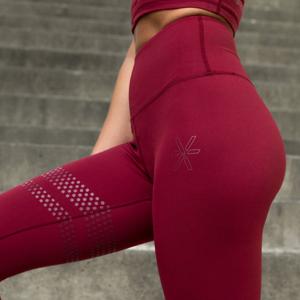 Wine Shape Tights