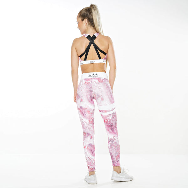 Pink Ice Tights - BARA Sportswear