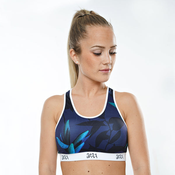 Dark Night Sports Bra