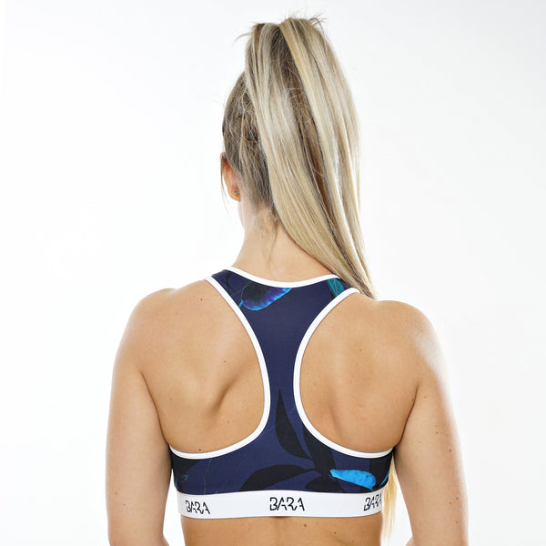 Dark Night Sports Bra - BARA Sportswear