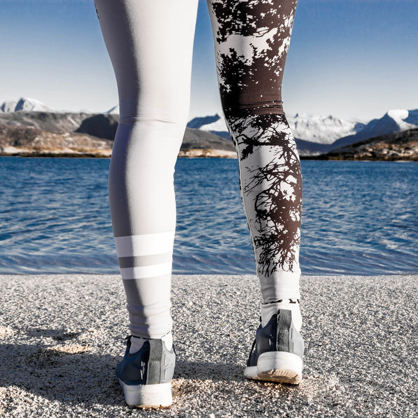 Grey Forest Tights - BARA Sportswear