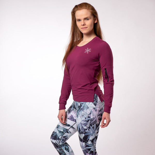 Adapt Purple Long Sleeve - BARA Sportswear