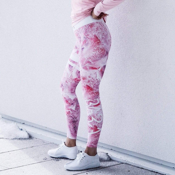 Pink Ice Tights