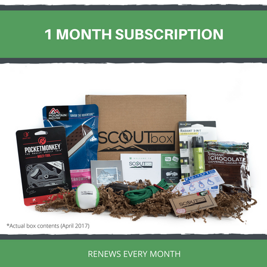 Monthly Subscription - SCOUTbox